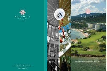 Meeting Planner Guide - Hilton Rose Hall Resort & Spa