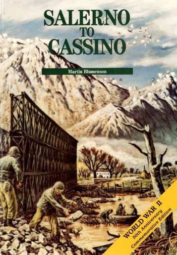 Salerno To Cassino - US Army Center Of Military History