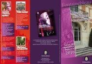 Journées Européennes du Patrimoine - Fontainebleau