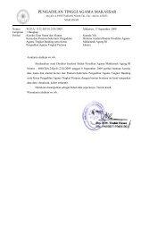 PENGADILAN TINGGI AGAMA MAKASSAR - PTA Makassar