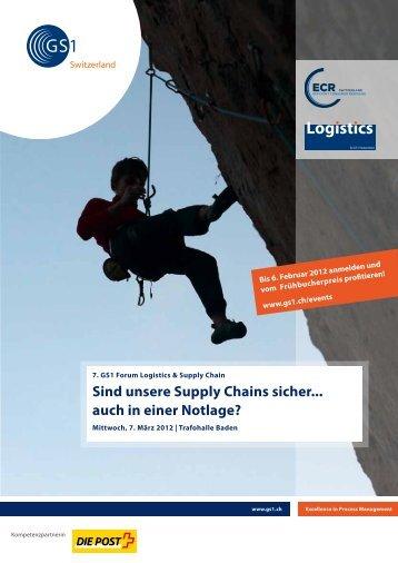 Sind unsere Supply Chains sicher... auch in einer ... - A. www.gs1.ch