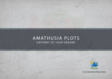 AMATHUSIA PLOTS - Galatariotis Group