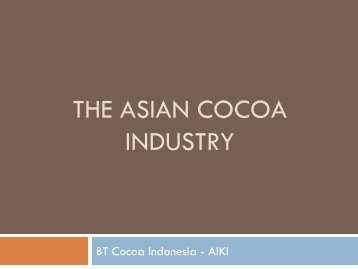 ASIA COCOA INDUSTRY