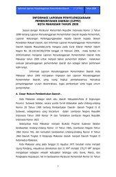 INFORMASI LAPORAN PENYELENGGARAAN ... - Makassar