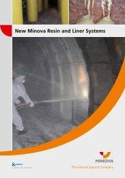 New Minova Resin and Liner Systems - Minova International Inc.