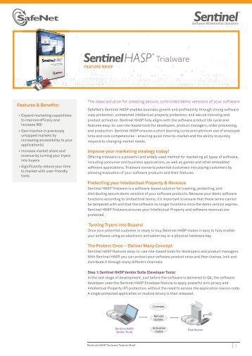 Sentinel HASP Trialware.pdf - Bangkok Systems & Software