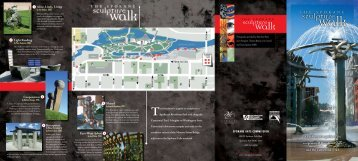 Sculpture Walk brochure - Spokane Arts Commission