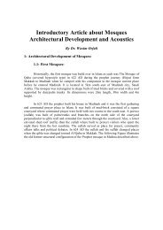 Introductory Article about Mosques Architectural Development and ...