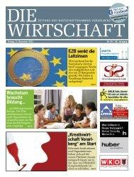 Die Wirtschaft Nr. 45 vom 11. November 2011
