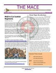 The Mace Vol 1 Issue 2 - Regimental Drum Major Association