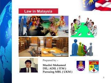Law in Malaysia