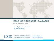 Violence in the North Caucasus: 2009, A Bloody