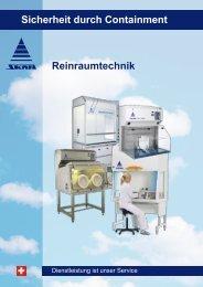 Reinraumtechnik Sicherheit durch Containment - Skan AG