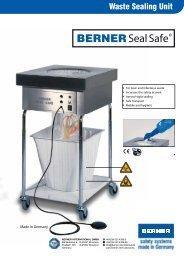 Leaflet Waste Sealing Unit BERNER SealSafe