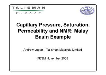 relationship between capillary pressure and permeability