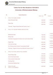 Tuition Fee for New Students of 2012/2013 University of ...