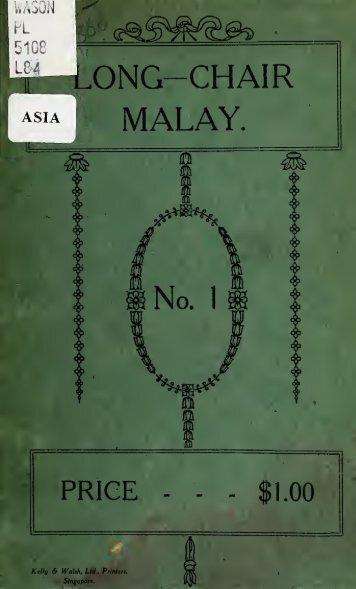 Long-chair Malay - Sabrizain.org