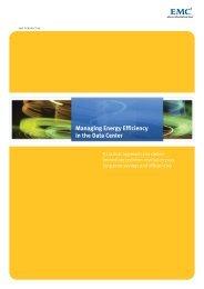 H4390 - Managing Energy Efficiency in the Data Center EMC ...