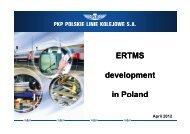 G3: ERTMS development in Poland - UIC