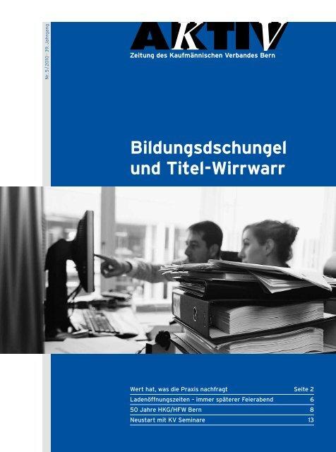 KV Bern. Schlöss Bern info@ Redaktion.
