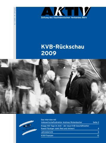 KV Aktiv im .pdf- Format herunter laden - KV Bern