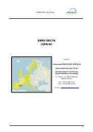 EUROSION Case Study: Ebro Delta (Spain)