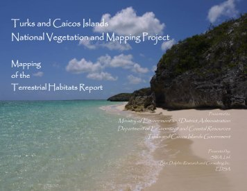 Turks and Caicos Islands National Vegetation and Mapping Project
