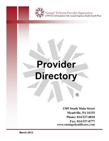 Asuris TruAdvantage PPO Provider Directory