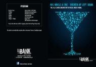 Left Bank Souk Qaryat Al Beri - Brunch Menu - Emirates Leisure Retail