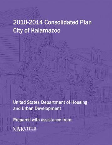 DRAFT Consolidated Plan - City of Kalamazoo