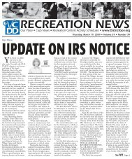 Update On IRS Notice - Village Community Development Districts