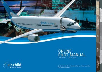 ONLINE PILOT MANUAL - AIR-CHILD Virtual Airline