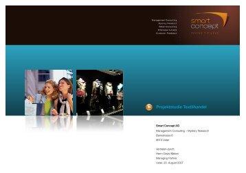 Teilauszug Studie als PDF - Smart Concept AG