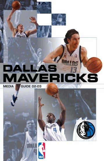 Dallas Mavericks Media Guide - NBA.com
