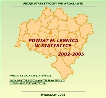 POWIAT M. LEGNICA W STATYSTYCE - Główny Urząd Statystyczny
