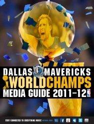 Media guide 2011–12 - NBA.com