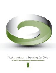 Closing the Loop … Expanding Our Circle - Community Foundation ...