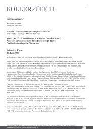 Kunst des 20. Jh. von Lehmbruck, Hodler und ... - Koller Auktionen
