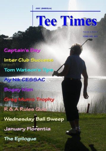 Feb 13 - Joint Services Golf Club (Dhekelia)