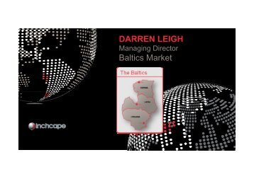 DARREN LEIGH Baltics Market - Inchcape