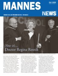 Doctor Regina Resnik - The New School