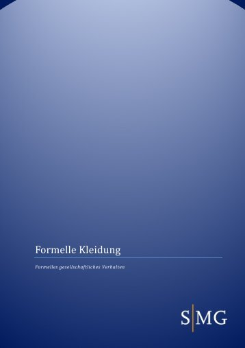 Formelle Kleidung - SMG Sales Management Group