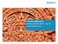 Windows Server 2012 - Top Ten - SmartIT Services AG