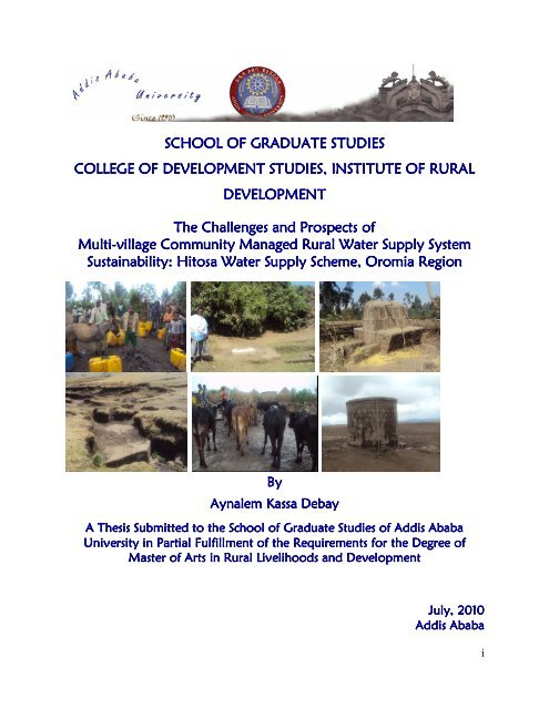 Research Done In Addis Ababa University