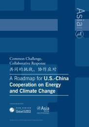 A Roadmap for US-China - Center for Climate and Energy Solutions
