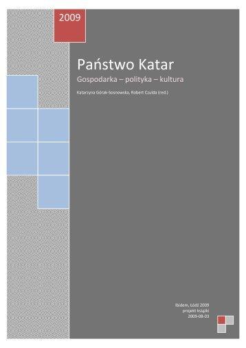 kATAR-KSIAZKA-POLSKI.. - Ambasada Państwa Kataru