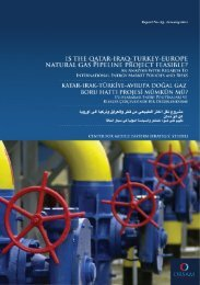 is the qatar-iraq-turkey-europe natural gas pipeline project ... - orsam