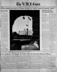 The Cadet. VMI Newspaper. October 03, 1955 - New Page 1 [www2 ...