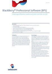 BlackBerry ® Hosted - SMR-Technik