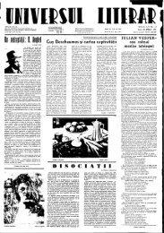 Guy Deschaumes şi cartea captivităţii D I S O C I A Ţ I I - BCU Cluj ...